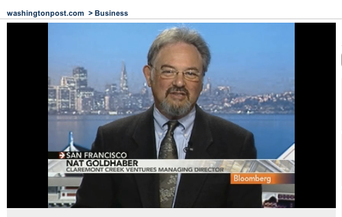 Nat Goldhaber on Bloomberg TV interview