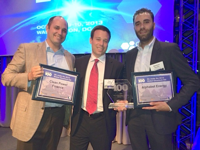 Cleantech Global 100 2013 winners included Alphabet Energy and Clean Power Finance