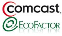 comcast-ecofactor-logos